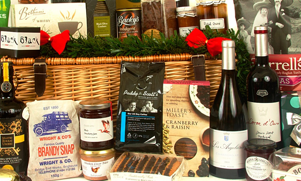 image of luxury hamper